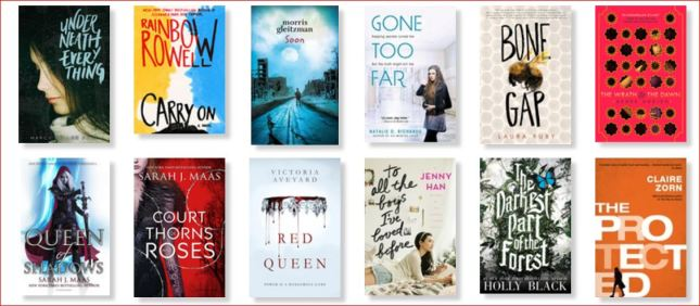 Favourite YA books 2015
